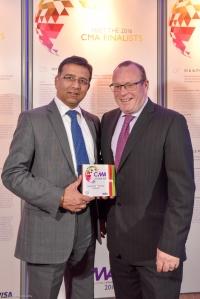 ndustry Choice Award Tech Mahindra – Pete Bottomley, Neeraj Kapoor
