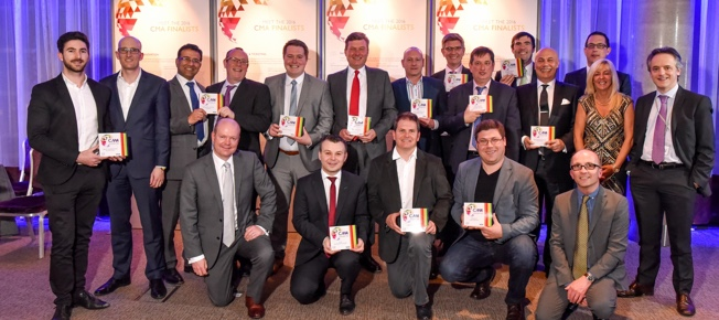 All the winners of the 2016 Contactless & Mobile Awards